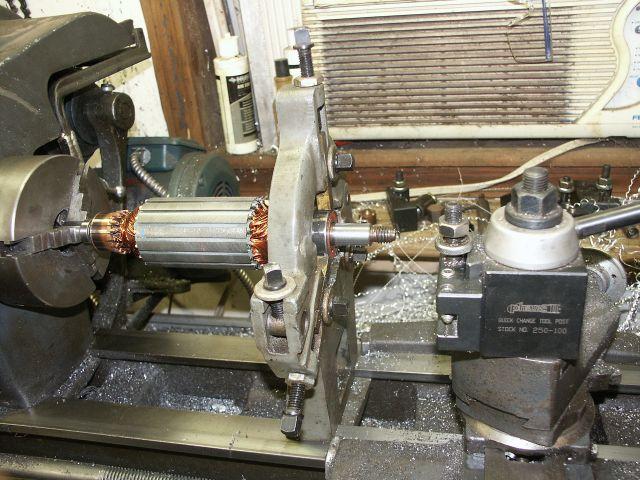 Treadmill Motor On Drill Press Pillar Drill Mig