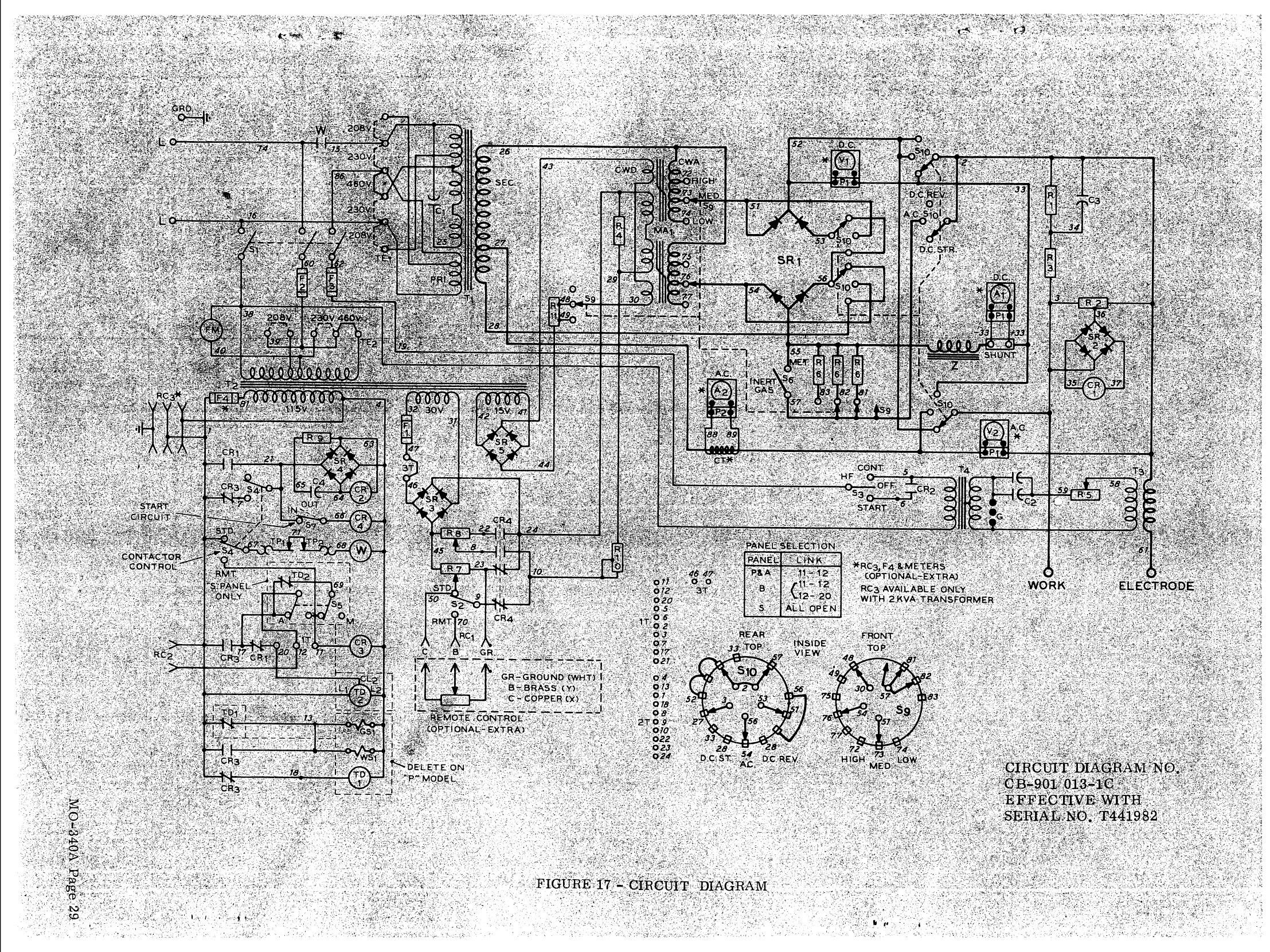 Ready Welder Schematic Enthusiast Wiring Diagrams Lincoln Engine Diagram Welding Welders Sa 200