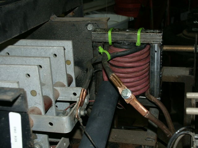 How to Modify the CP-250TS for Single Phase and Short Arc Welding Ideal Bandsaw Welder Wiring Diagram on