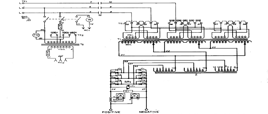 airco welding machines wiring diagrams wiring diagram u2022 rh msblog co arc welding machine circuit diagram pdf Basic Generator Circuit Diagram