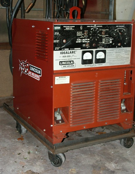 For Sale Lincoln Electric R3S325 with LN7 wire feeder – Lincoln Idealarc Wiring Diagram