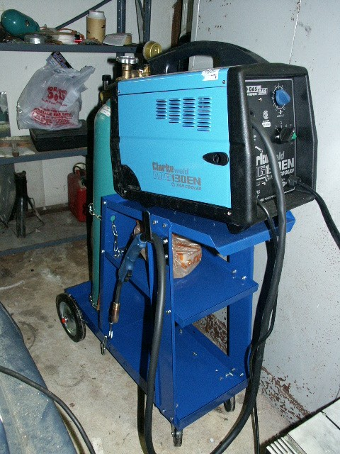 This Was My First Welder A Clarke 130en Gas Gasless Mig